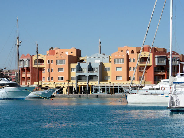 Waterfront of Hurghada