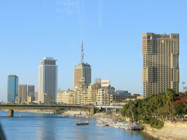 Ramses Hilton Hotel and the Nile